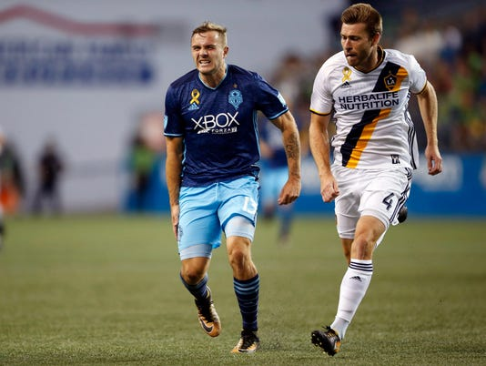 MLS: Los Angeles Galaxy at Seattle Sounders FC