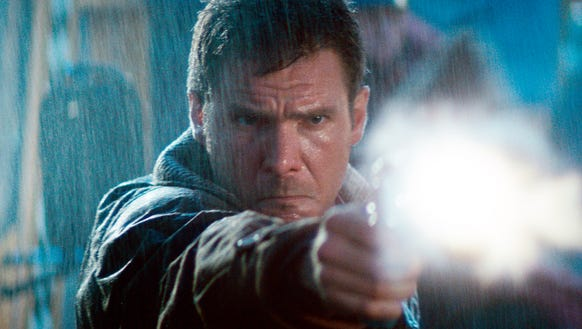 Harrison Ford starred as a cop hunting bioengineered