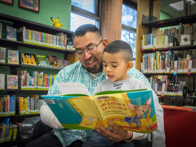 Reading to a child on a daily basis, beginning in infancy,