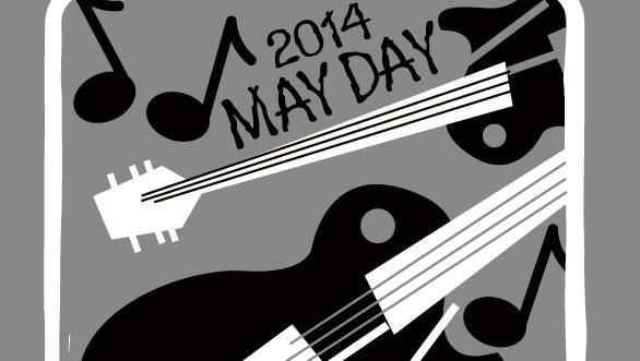 2014 May Day at the Gin