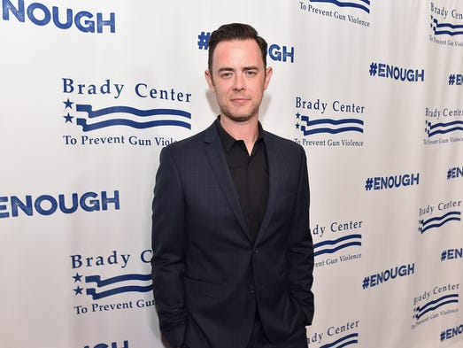 Actor Colin Hanks attends the 2016 Los Angeles Brady
