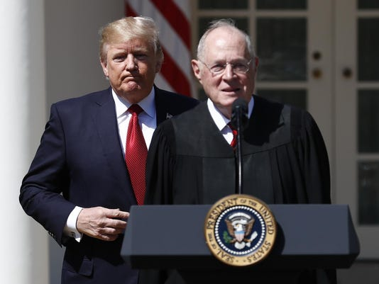 Donald Trump,Anthony Kennedy