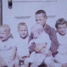 From left, Jim, Tom, Mary Jo, David and Cheryl.