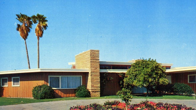 Frank Sinatra's home in Palm Springs was built in 1947.
