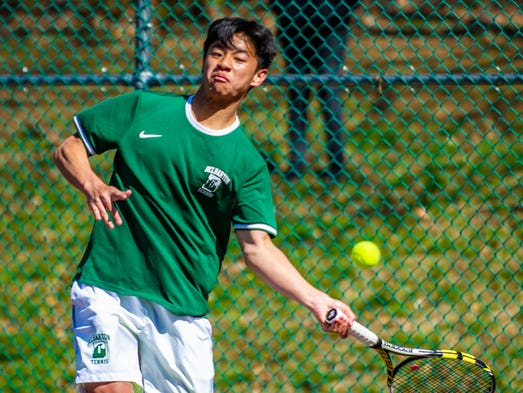 delbarton singles Delbarton won second singles and both doubles matches to seal the victory for the green wave who finished with 21 points, followed by montville (17).