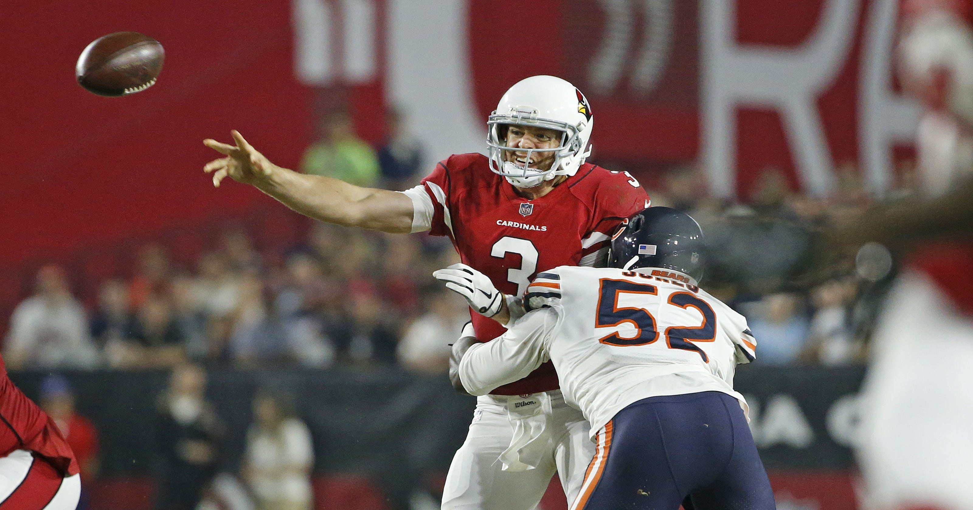 Analysis from the Arizona Cardinals game against the Chicago Bears 537fb12c1