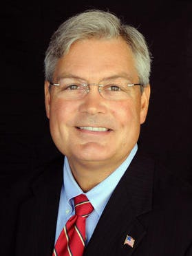 Incumbent Mayor Randy Henderson.