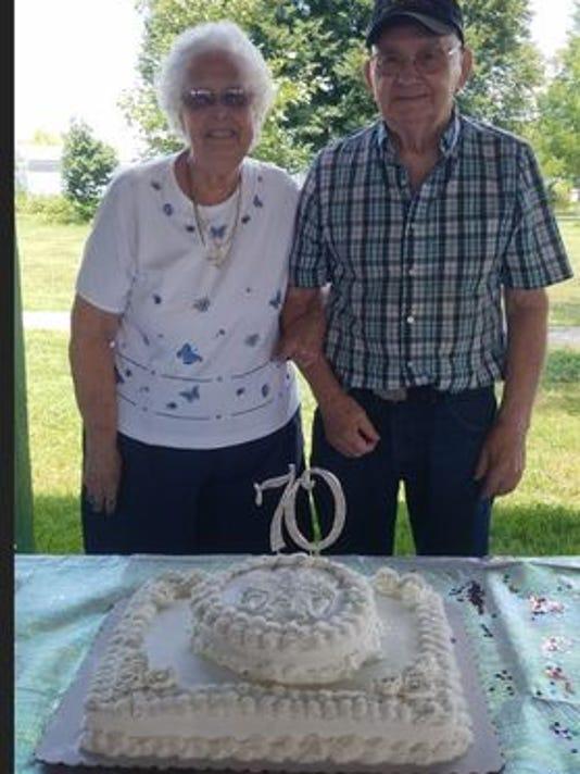 Anniversaries: William Parrish & Mabel Parrish