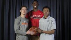 All Shore Basketball team - Rob Higgins, Middletown