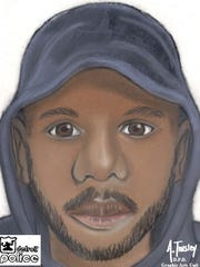 Detroit Police are looking for this man, who is suspected of taking part in 2 robberies and rapes near 13000 W. McNichols on Thursday night.