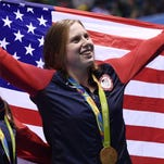 Brennan: Lilly King beats Russian 'knowing I did it clean'