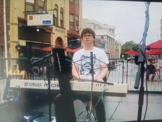 An accomplished musician, Hank Rosenthal of Branchburg