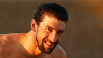 """""""It's a good starting point,"""" Michael Phelps said after his return to competition this week. """"It doesn't really matter exactly where we are this given day. It just kind of really matters where we are a year from now."""""""