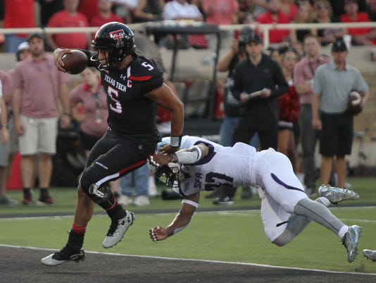 NCAA Football: Stephen F. Austin at Texas Tech
