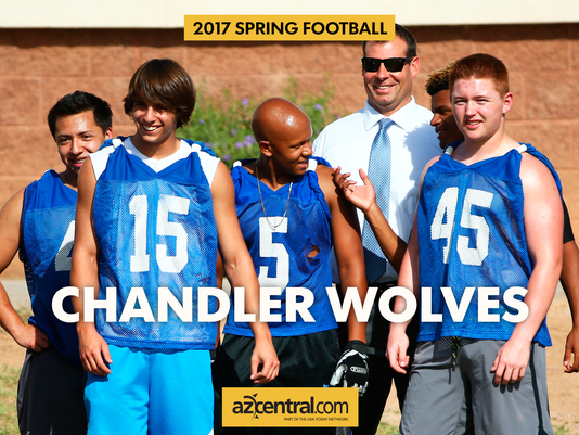Chandler spring football practice 2017