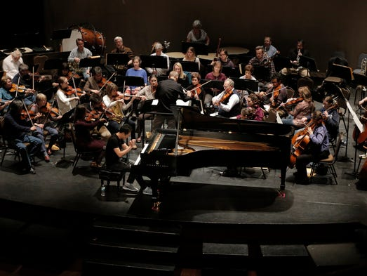 The Oshkosh Symphony Orchestra celebrates its 75 anniversary,