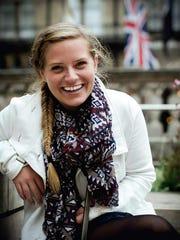 Fairport High School grad Caitlin Hunter will travel