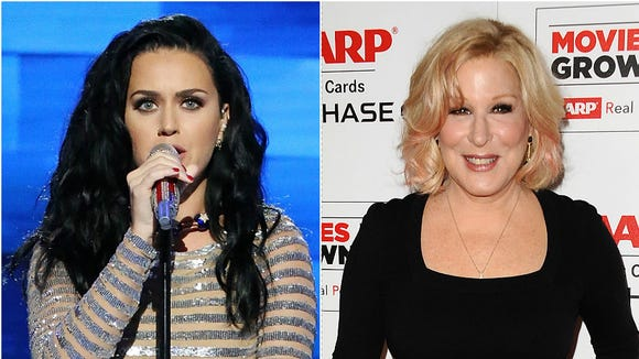 After the second presidential debate, Katy Perry tweeted