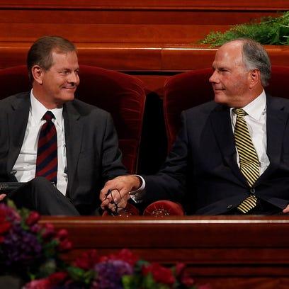 Elder Dale G. Renlund, Elder Gary E. Stevenson and