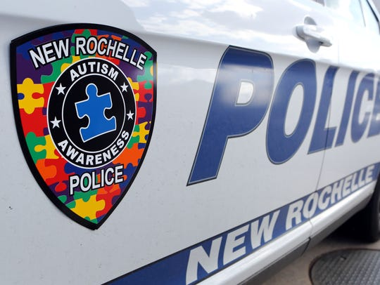 The New Rochelle police started an Autism Patch Challenge.