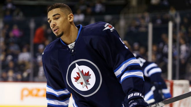 Evander Kane, who has had season-ending surgery, is heading to the Buffalo Sabres  in a trade.