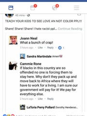 The Facebook post that resulted in the dismissal of
