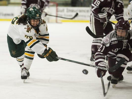 Colgate vs. Vermont Women's Hockey 01/02/15