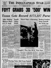 IndyStar A1 on 1967 Indy 500