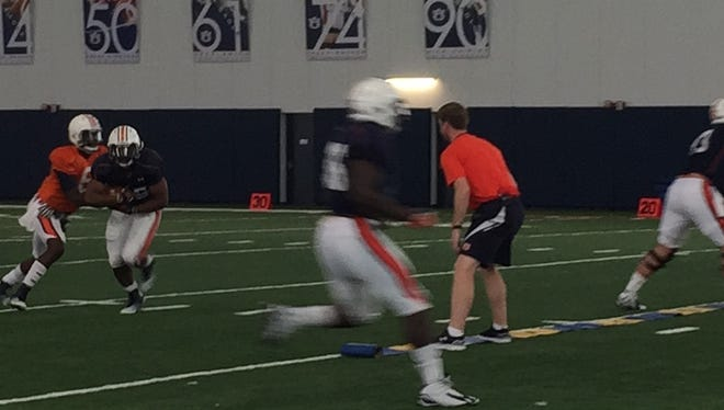 Auburn held its sixth spring practice on Tuesday.
