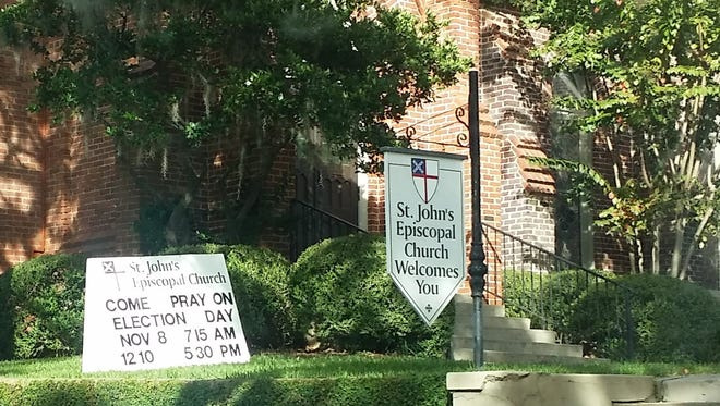 St. John's Episcopal Church will open its doors for prayer and reflection on Election Day.
