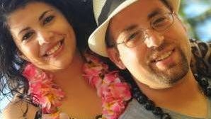 Sal Brescia and his fiancee Kristin Neshewat, in Hawaii. The couple was to marry on July 4, 2017, but Brescia was killed by a hit-and-run driver on Dec. 29, 2016, as the tow-truck driver helped a disabled motorist on the New England Thruway in Harrison.
