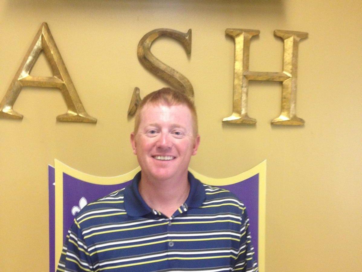 New ASH baseball coach James Halle