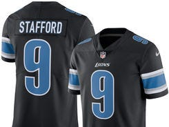 Back in black! Detroit Lions reveal their Color Rush uniforms