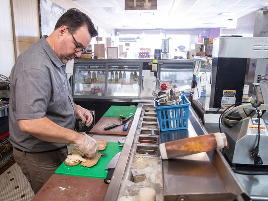 From a wide panini selection to soups and more the Downtown Farmstand offers breakfast, lunch and dinner seven days a week. The deli offers a 35-percentvegetarian menu.
