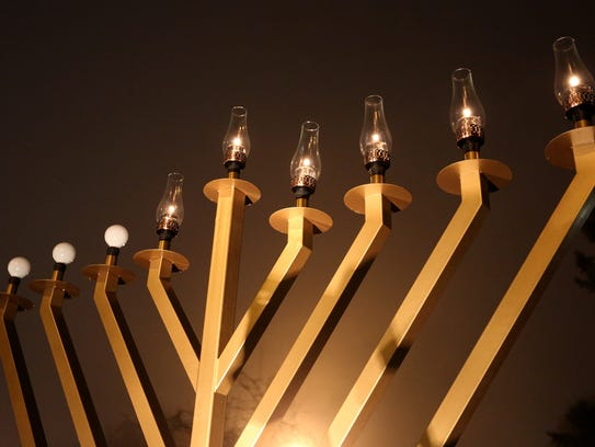 2nd Annual Grand Menorah Lighting: This event will