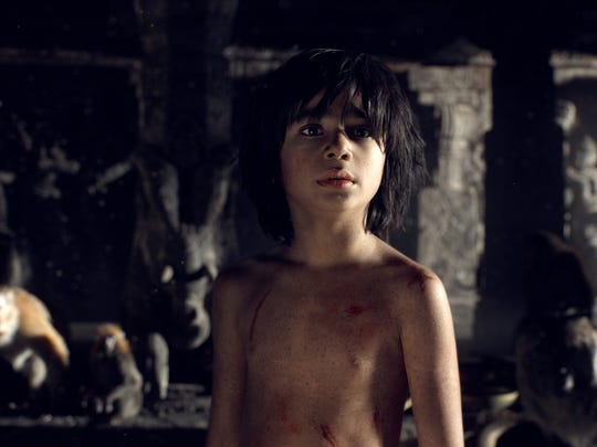 Neel Sethi stars as Mowgli in Disney's live-action