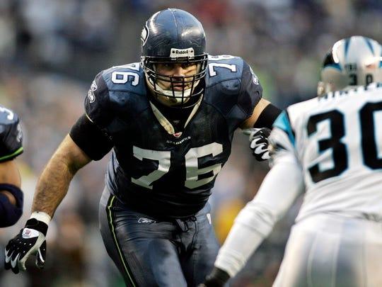 Steve Hutchinson, OG - Seattle Seahawks (2001-05), Minnesota Vikings (2006-2011), Tennessee Titans (2012)