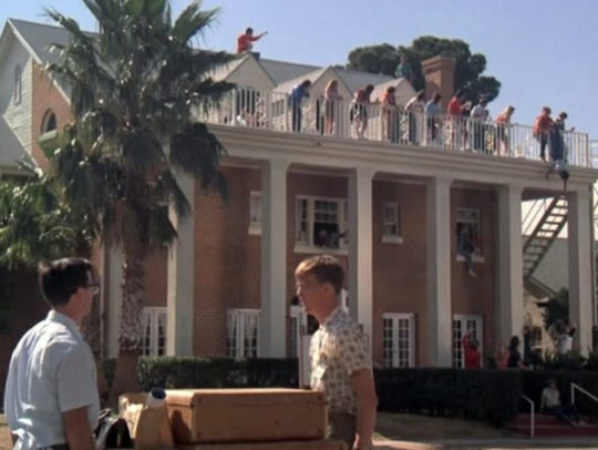 "A scene from the 1984 film ""Revenge of the Nerds,"""
