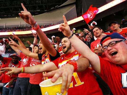 Hawks follow Falcons' lead, lower some concessions prices