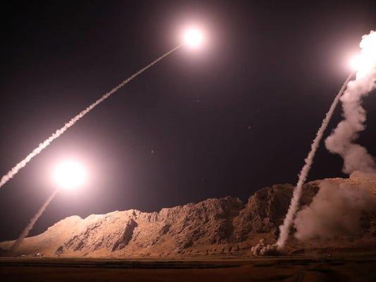 APTOPIX Iran Syria