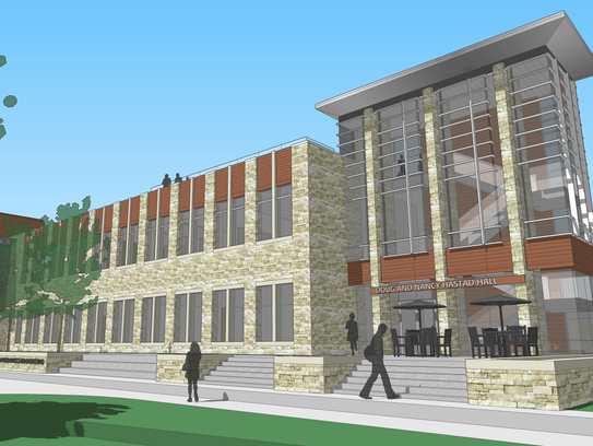 This rendering shows what Carroll University's new