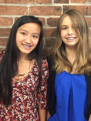 Hue Tran and Grace DiCesare are owners of Caring with Cookies.
