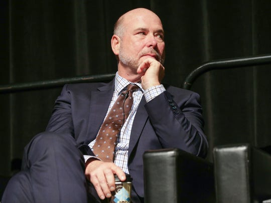 Indiana House Speaker Brian Bosma (R), takes part in