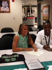 Brianna Fuller signed recently with Webber for women's basketball.