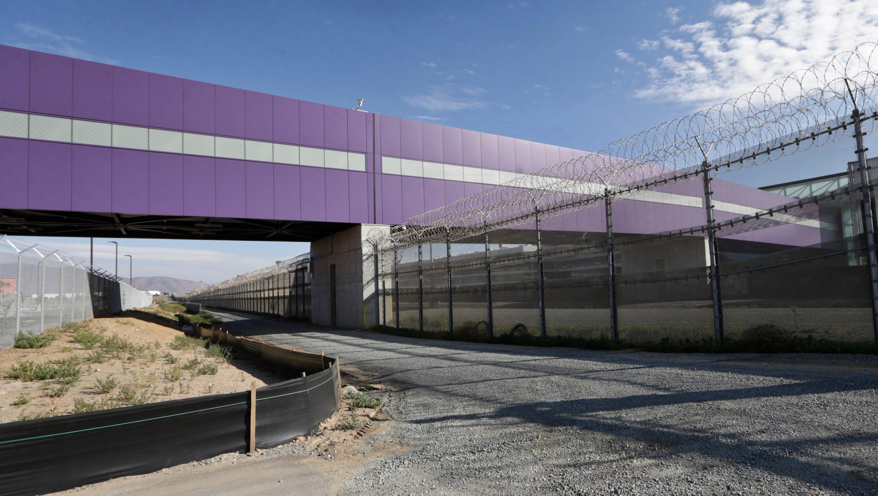 Cross border airport new california terminal extends to mexico sciox Gallery