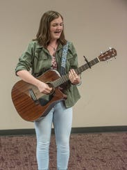 Madeline Mae, 16, of Wetumpka is a singer/songwriter