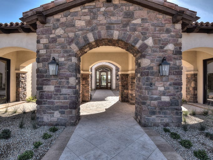 With an asking price of $3.9 million, this Peoria home