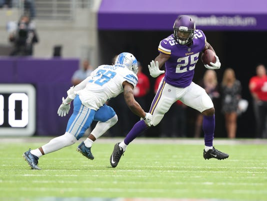 USP NFL: DETROIT LIONS AT MINNESOTA VIKINGS S FBN MIN DET USA MN
