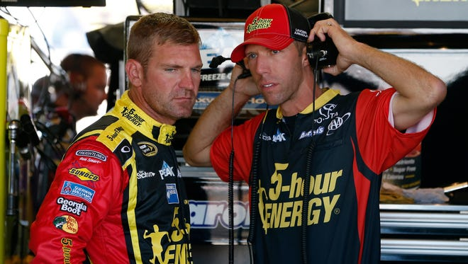 Clint Bowyer was docked 25 points and crew chief Billy Scott was suspended for three races and fined $75,000 after the team was found to have violated a rule in Friday's inspection.