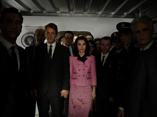 """Peter Sarsgaard and Natalie Portman in """"Jackie."""""""